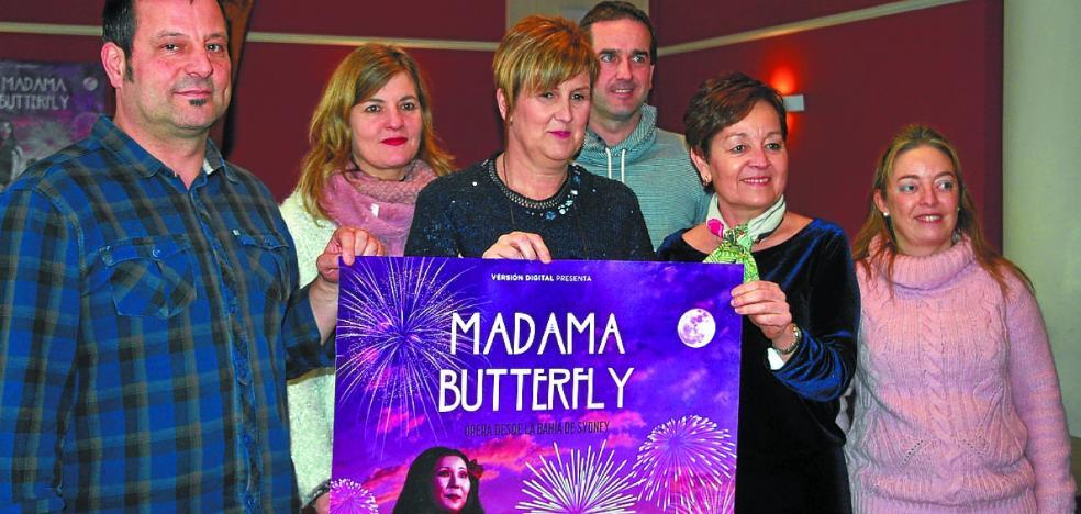 La ópera 'Madama Butterfly' se podrá ver el día 18 en la pantalla del Gurea
