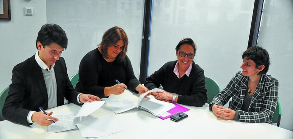 Jalgune creará el Txikiclub gracias al nuevo convenio con el Ayuntamiento