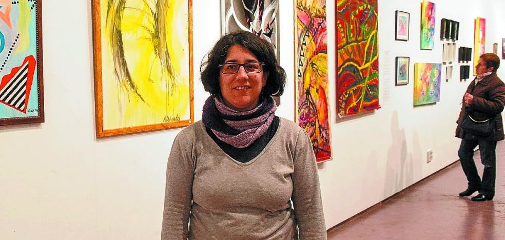 Naiara Delgado ofrece un repaso de su obra pictórica