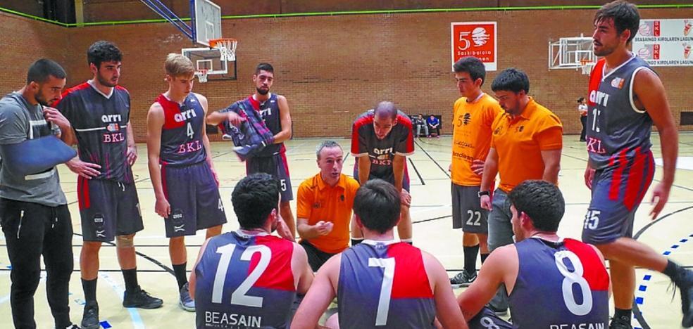 El sénior nacional de basket se mide al Atlético San Sebastián en el Antzizar