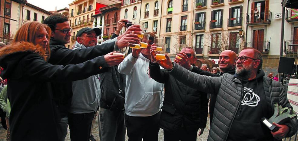 Zaporeak abre la nueva temporada del Txotx 2018 en Hernani