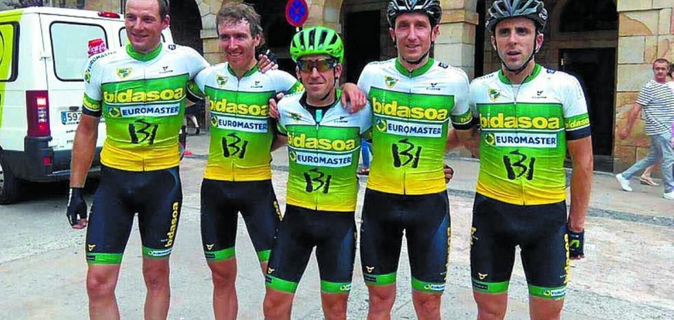 El equipo máster Transbidasoa-Euromaster-Inurrieta prepara la siguiente temporada