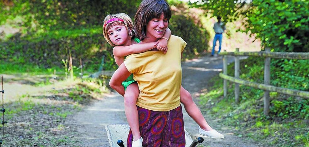 La película 'Verano 1993' llega a Irun de la mano de la actriz Bruna Cusí