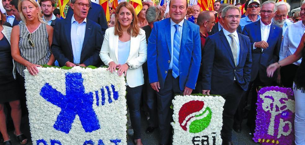 El PNV quiere estrechar vínculos con el nuevo PDeCAT, al que aún ve como referente en Cataluña