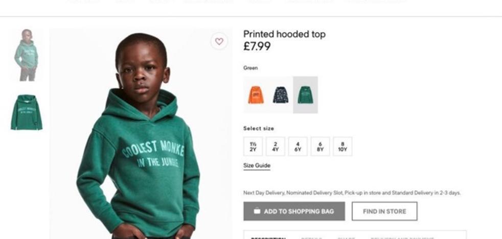 H&M cierra sus tiendas en Sudáfrica tras las protestas por la sudadera calificada de racista
