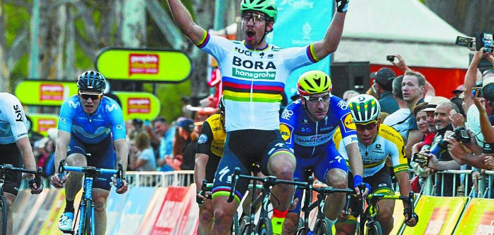Sagan estrena el año con un triunfo en Australia