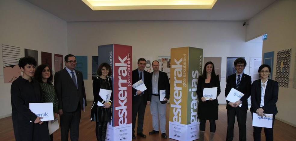 Las instituciones vascas celebrarán los 70 años de la Declaración de Derechos Humanos