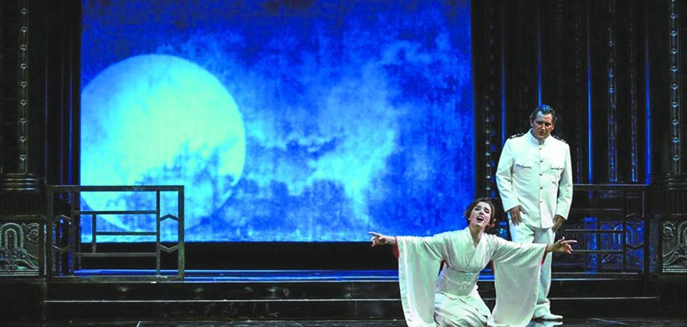 'Madama Butterfly', de Puccini, estrena hoy el ciclo de ópera
