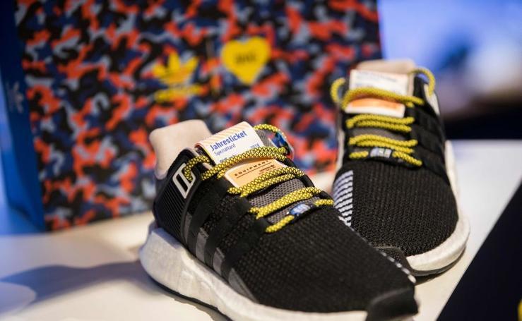 Las zapatillas del metro de Berlín