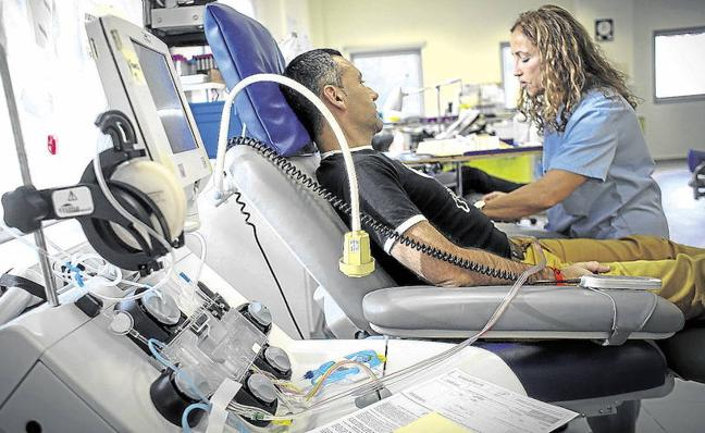 La falta de reservas de sangre hace peligrar operaciones en Euskadi