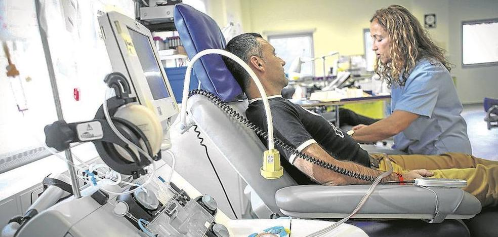 La falta de reservas de sangre pone en peligro las operaciones en Euskadi
