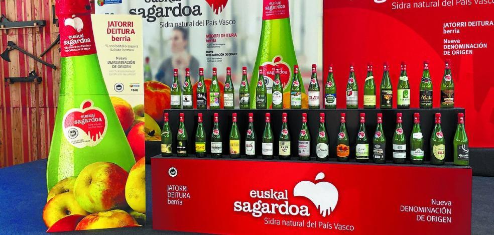 Presentación de la Denominación de Origen Euskal Sagardoa en Biteri