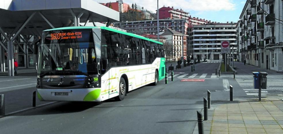 Lurraldebus crece en 38.600 viajeros al mes en el último trimestre de 2017