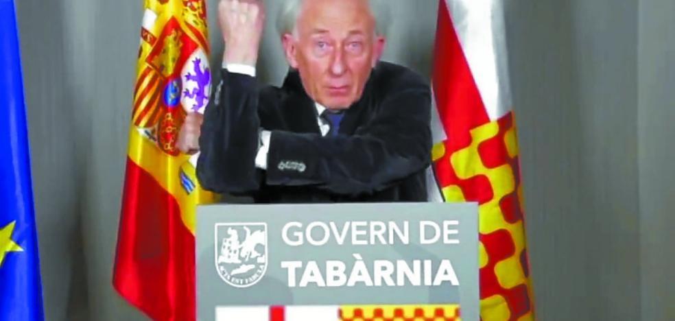 Albert Boadella ya gobierna en la imaginaria Tabarnia