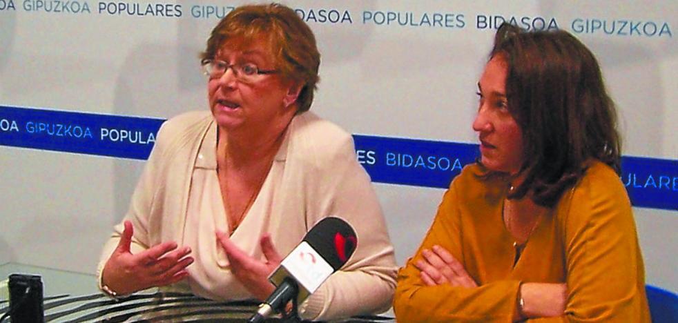 El PP responsabiliza a Iridoy de la«inestabilidad» del Gobierno municipal