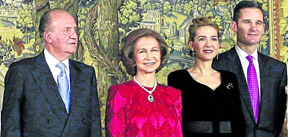 Don Juan Carlos se suma al 50 cumpleaños de Urdangarin