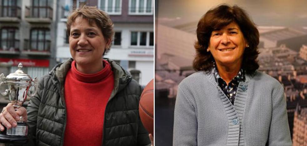 Ana Eizagirre y Elena Moreno enseñaron el camino a seguir