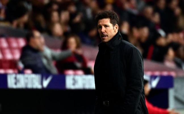 Simeone: «Ha sido una victoria merecida»