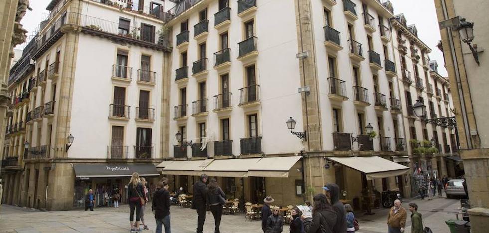EH Bildu recurrirá la licencia a un nuevo hotel en la calle Mayor de San Sebastián
