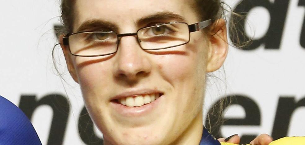 Irene Usabiaga, campeona de España de omnium