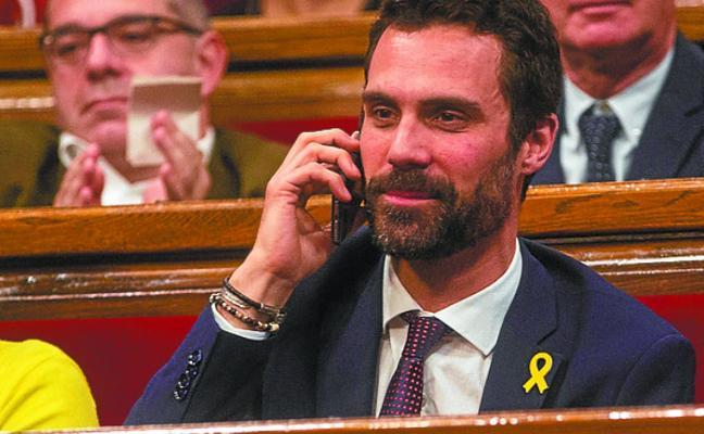Puigdemont pide «valentía» a la Mesa y descarta regresar si es detenido