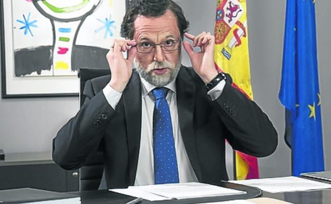 'El show del presidente' Rajoy