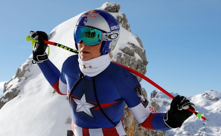 Lindsay Vonn, a por el oro en PyeongChang