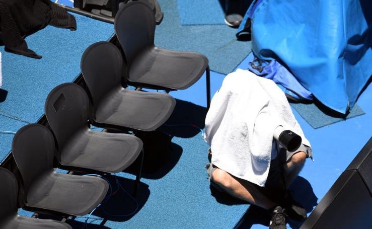 Ola de calor en el Australian Open
