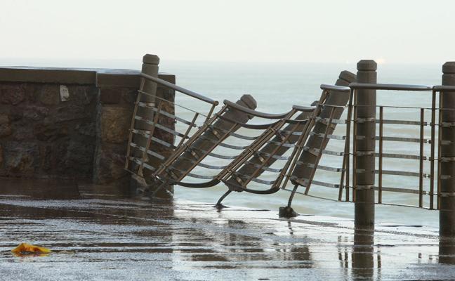 Las imágenes de los daños del temporal