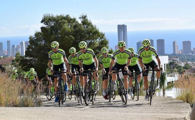 Euskadi-Murias devuelve al ciclismo vasco al máximo nivel