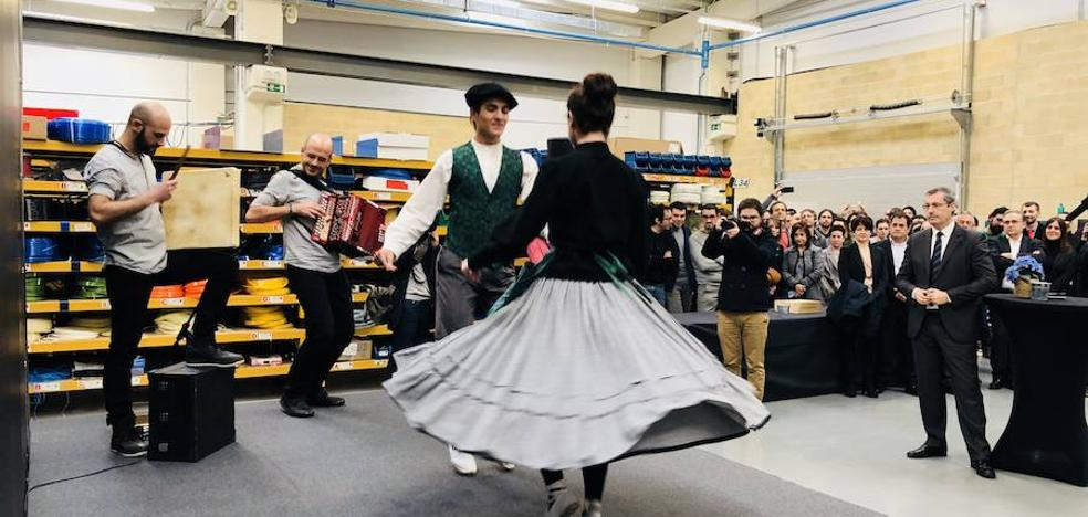 Fiesta inaugural del Grupo Ulma en Goribar