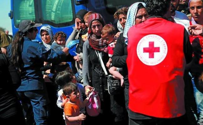 Cruz Roja atendió el pasado año en Gipuzkoa a 160 personas solicitantes de asilo y refugio