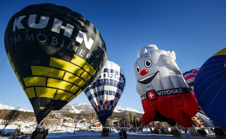 Un colorido festival de globos aerostáticos
