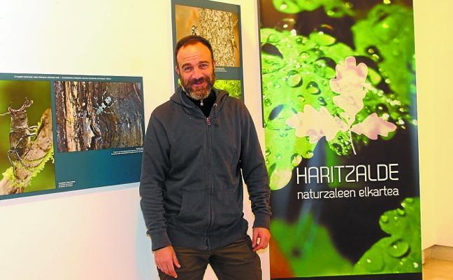 Naturaleza, ecosistemas y sus habitantes en la exposición 'Urumea bizi' en Biteri