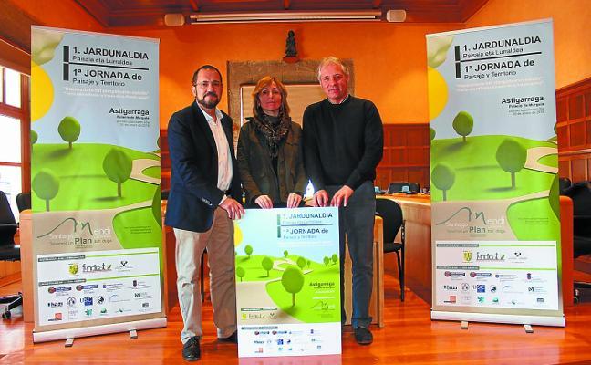 Astigarraga acogerá por primera vez la 'Jornada de Paisaje y Territorio'