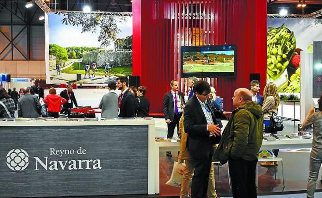 Lursarea incluye la red de espacios naturales 'Explora Navarra' en su oferta en Fitur