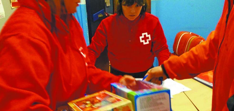 Cruz Roja ha llevado la ilusión de las navidades a 160 niños