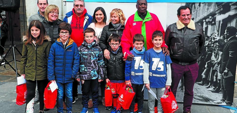 500 niños participaron en el Concurso de Dibujo del Cross Muguerza