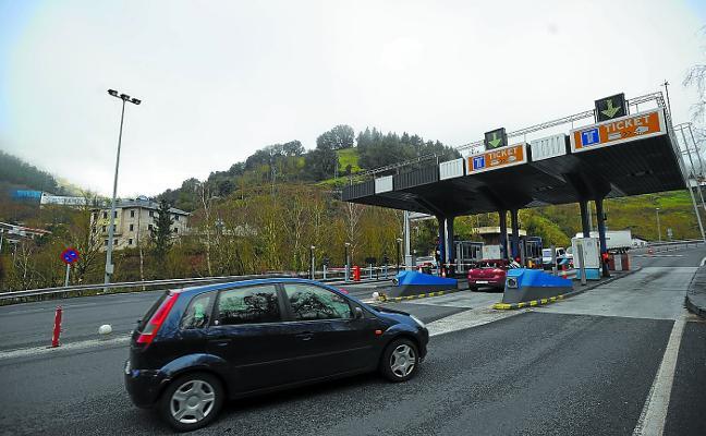 La supresión del peaje de San Lorenzo incrementa el tráfico por todo Eibar