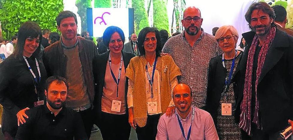 Xabi Alonso, embajador de Tolosaldea en Fitur