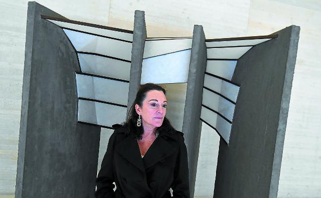 Cristina Iglesias: «La obra de la isla es una donación, pero me siento ya pagada solo con hacerla»
