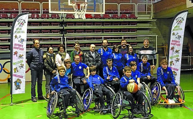 Fundación Michelin renovó con la sección de deporte adaptado del Ostadar SKT