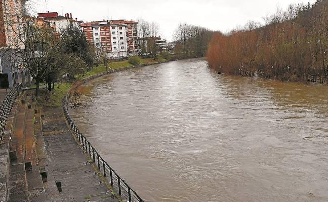 Gipuzkoa registra entre diciembre y enero casi un tercio de la lluvia de todo un año