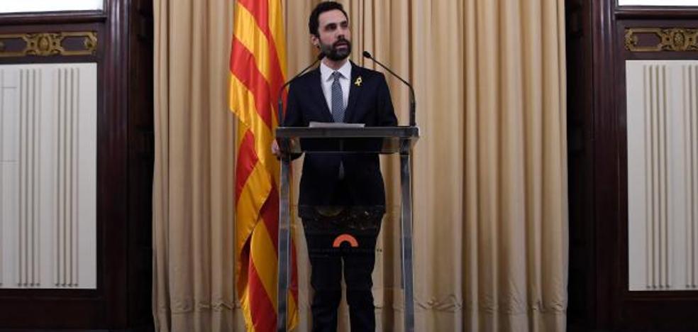 Roger Torrent propone a Puigdemont como candidato a la presidencia de la Generalitat