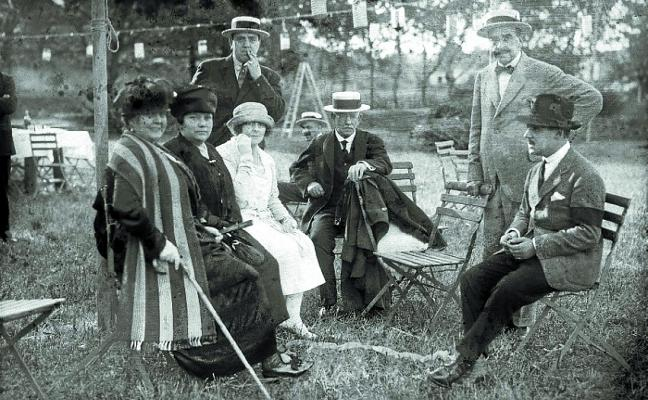 1918. Familias donostiarras «en la miseria más horrible»