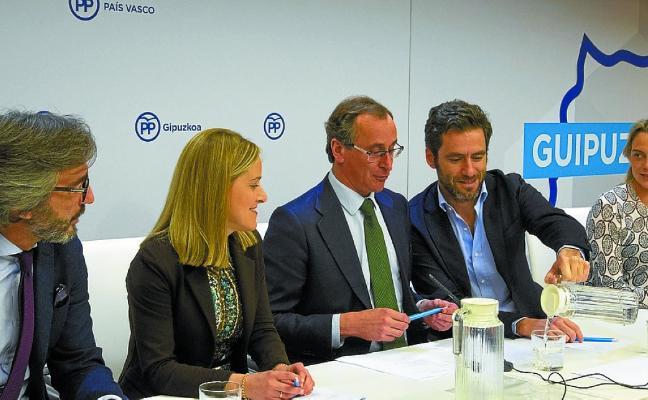 El PP se reivindica como oposición «útil» tras los acuerdos con el PNV