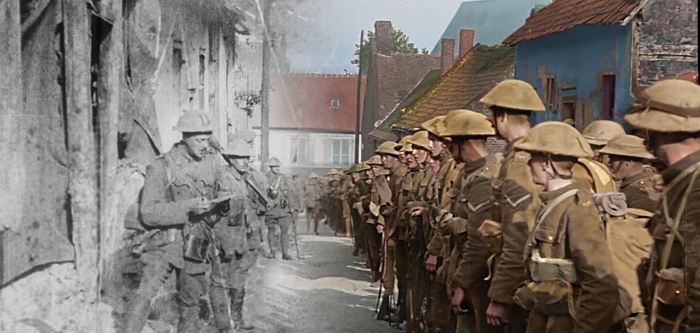 Peter Jackson y Danny Boyle en la conmemoración de la Primera Guerra Mundial