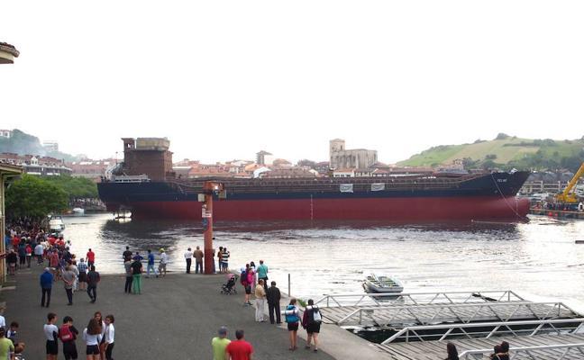 Astilleros Balenciaga de Zumaia inicia paros por un pacto de empresa «digno»