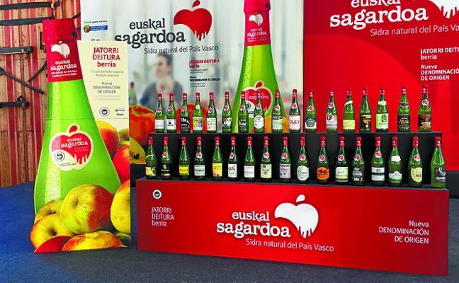 La denominación de origen 'Euskal Sagardoa' se presenta hoy en Gure Izarra
