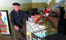 Tolosa homenajea a Tomás Hernández Mendizabal por sus 50 carteles del carnaval